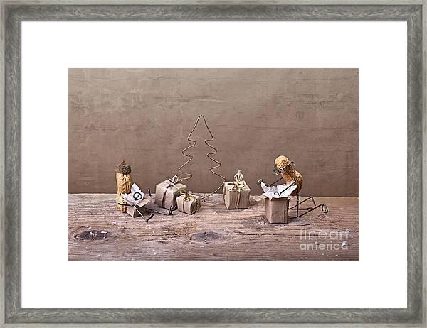 Simple Things - Christmas 08 Framed Print