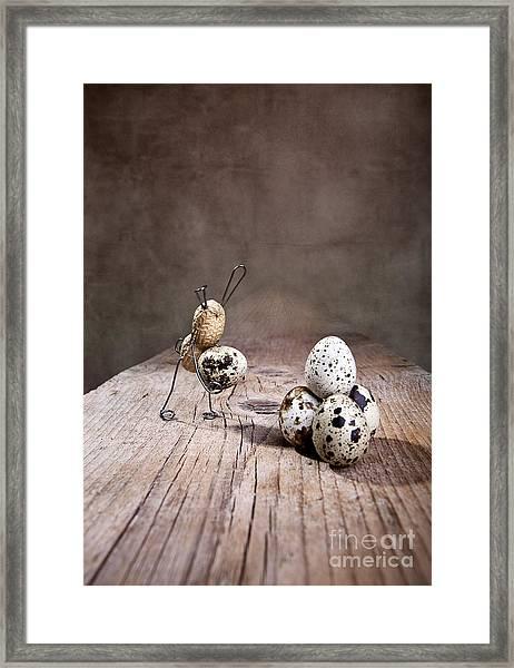 Simple Things Easter 01 Framed Print