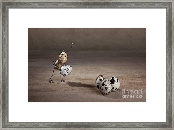 Simple Things Easter 08 Framed Print