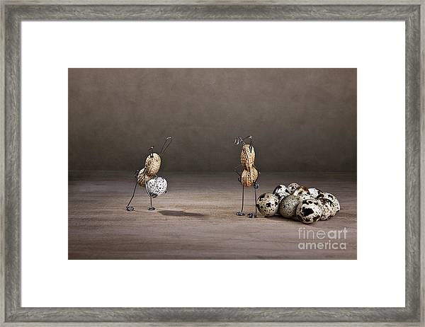 Simple Things Easter 09 Framed Print