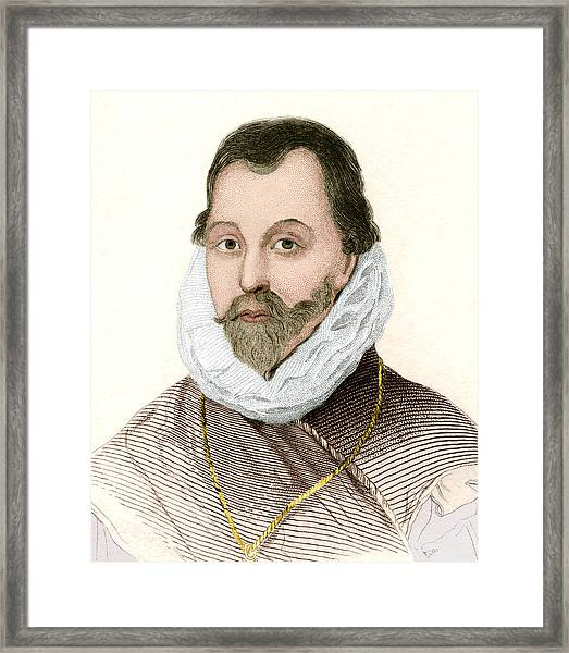 Sir Francis Drake, English Explorer Framed Print
