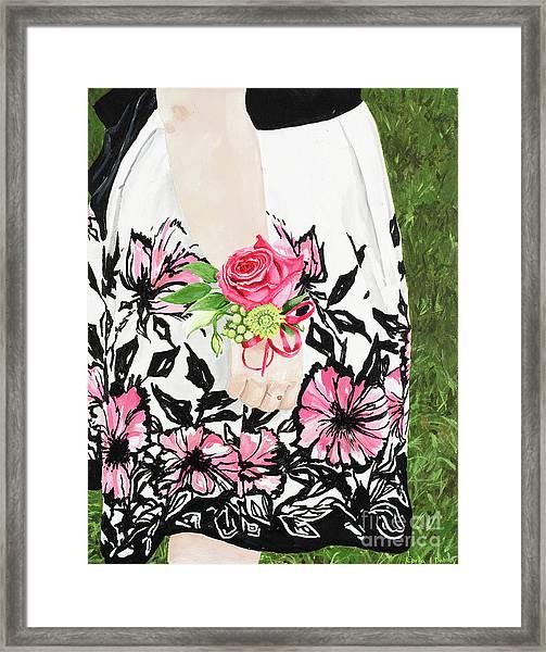 Sister Of The Groom Framed Print by Carla Dabney