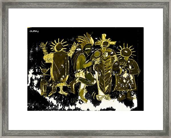 Sky People 5 Framed Print