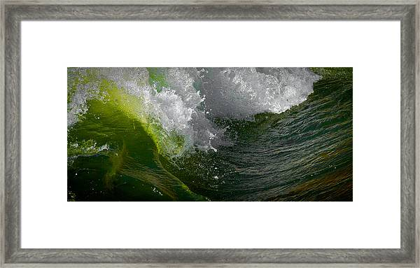 Sleeping Beauty Wave Framed Print