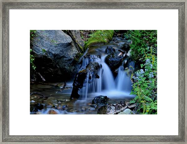 Small Falls Framed Print