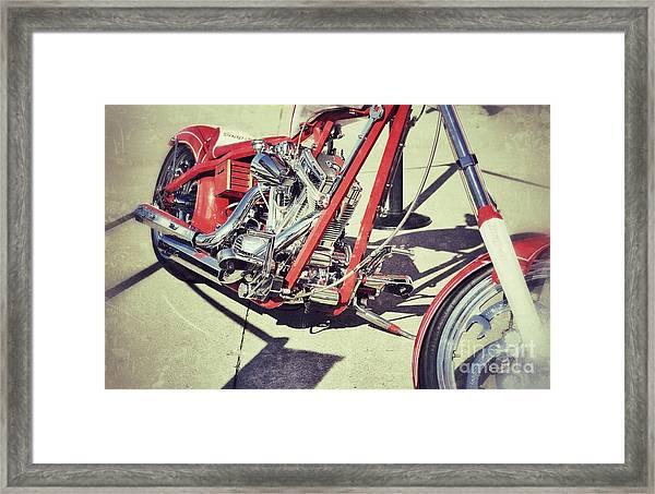 Snap On Framed Print