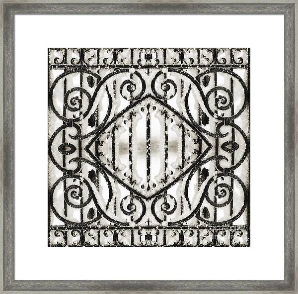 Snowy Forms Framed Print