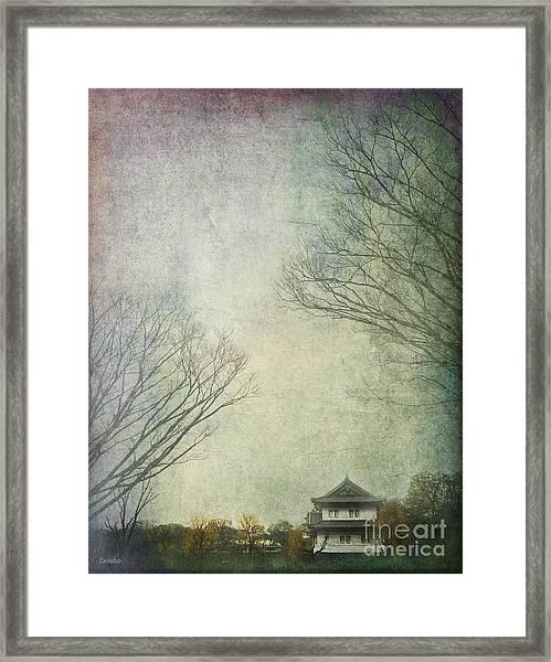 Snuggled Framed Print