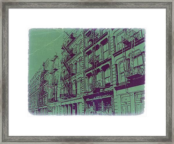 Soho New York Framed Print