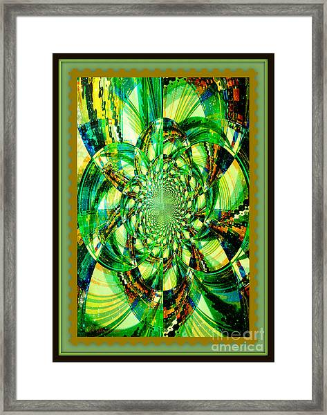 Solar Explosion Framed Print