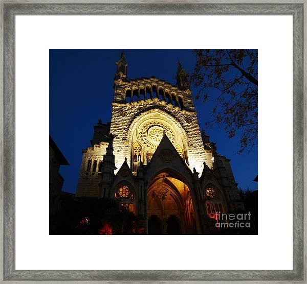 Soller Cathedral Framed Print