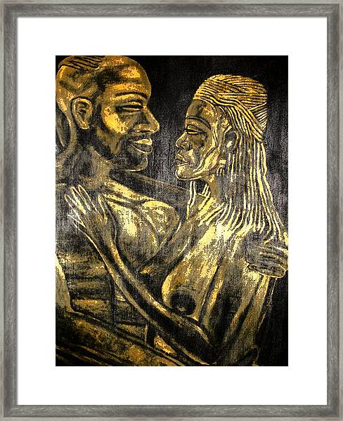 Soulmates Framed Print by Lee McCormick