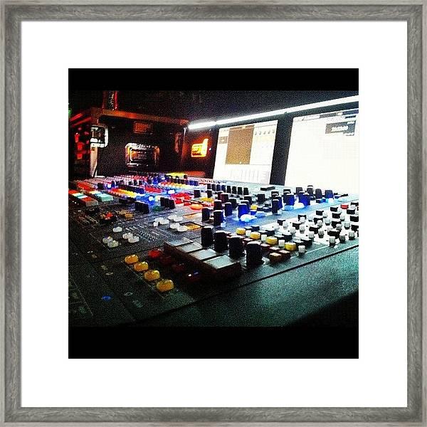 Sound Board Framed Print