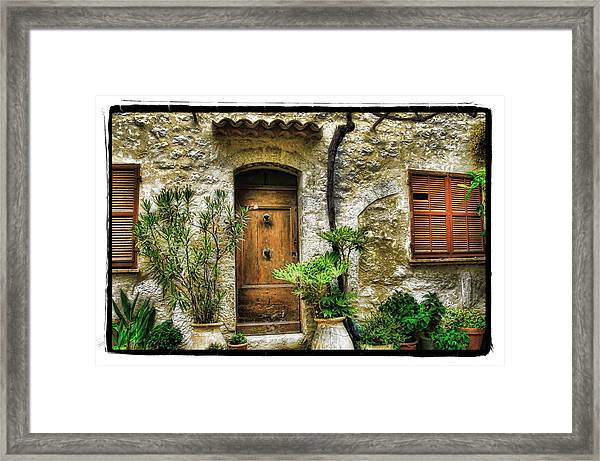 South Of France 1 Framed Print