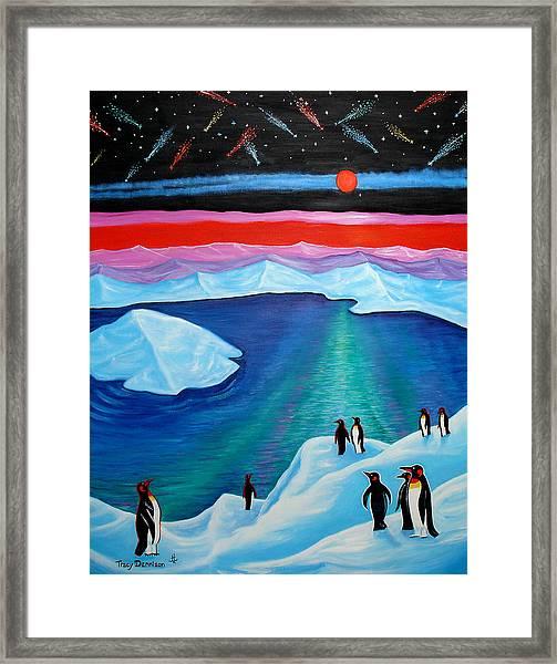 South Pole Framed Print