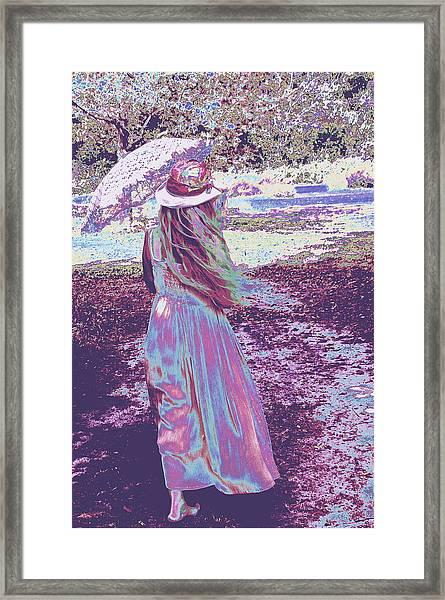 Southern Lady Framed Print