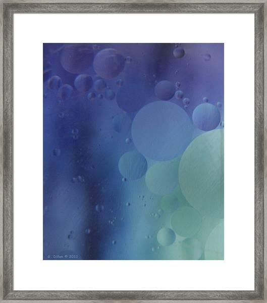 Space Shot Framed Print