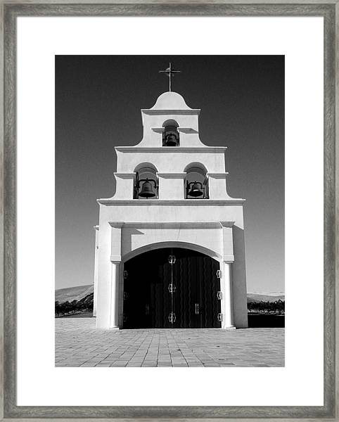 Spanish Mission Front Framed Print