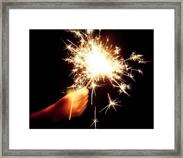 Sparklin' Framed Print