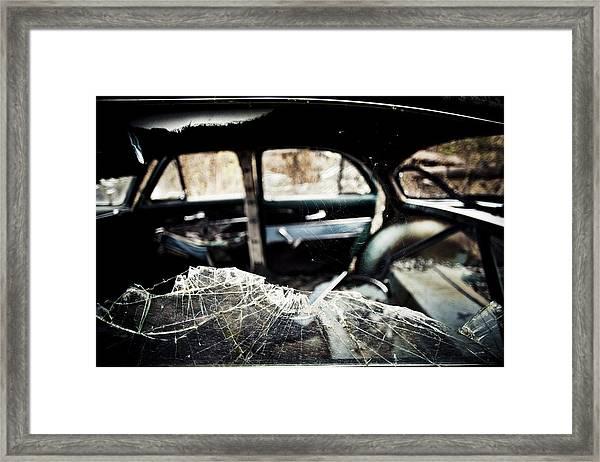 Spider's Window Framed Print