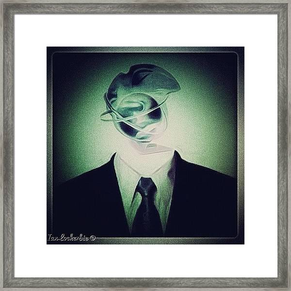 Spin Doctor - Design - Framed Print