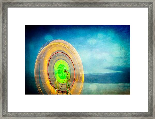Spinning 2 Framed Print