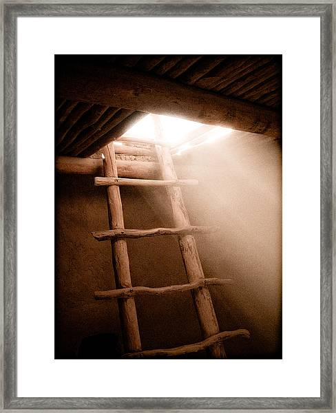 Spirit Ladder Framed Print