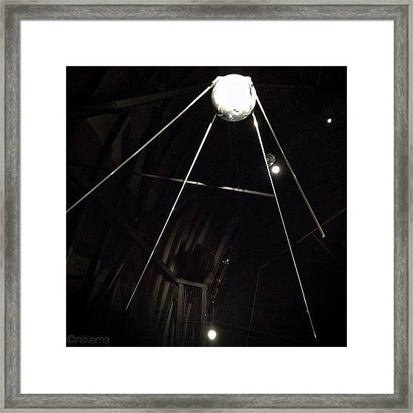 Sputnik 1: Space Age Began On Oct. 4th Framed Print