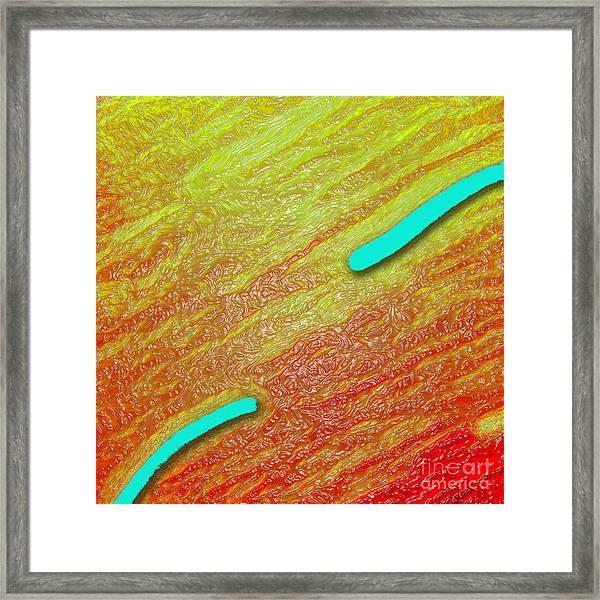 Squirmy Framed Print