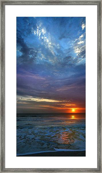 St. Augustine Sunrise Framed Print