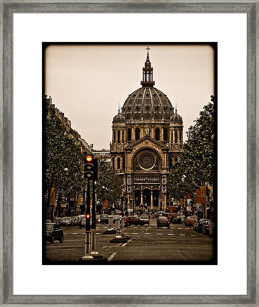 Paris, France - St. Etienne Framed Print