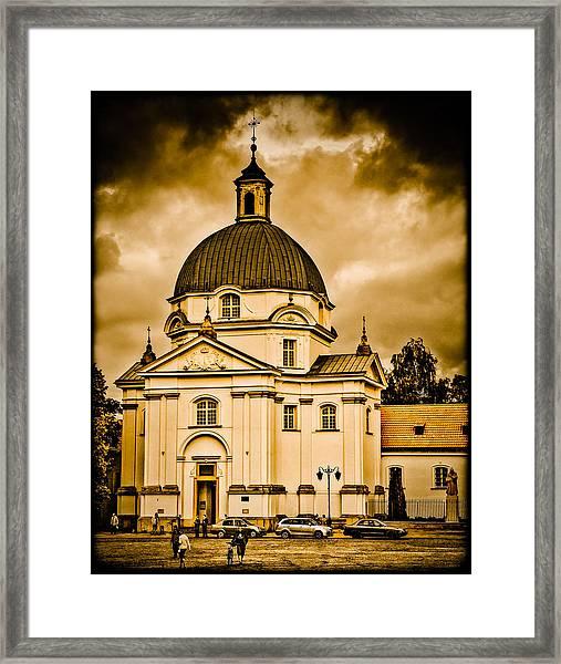 Warsaw, Poland - St. Kazimierz Framed Print