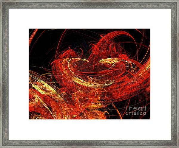 St Louis Abstract Framed Print