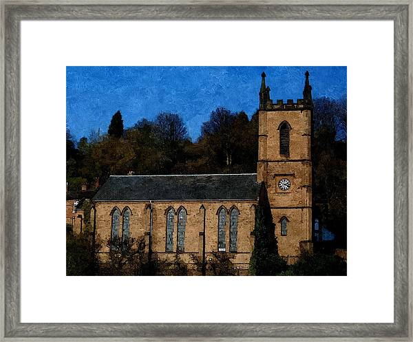 St Luke's Church Ironbridge Framed Print