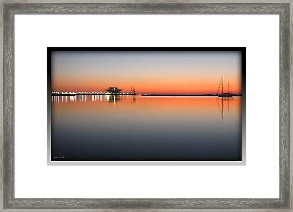 St. Pete Sunrise Framed Print