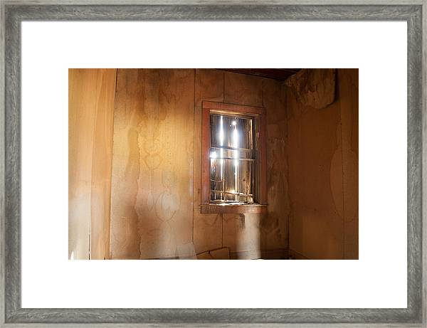 Stains Of Time Framed Print