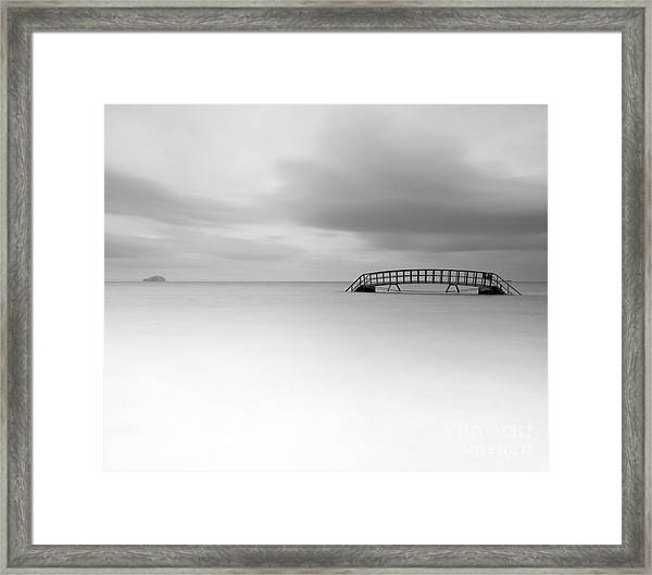 Stairs To Nowhere Framed Print
