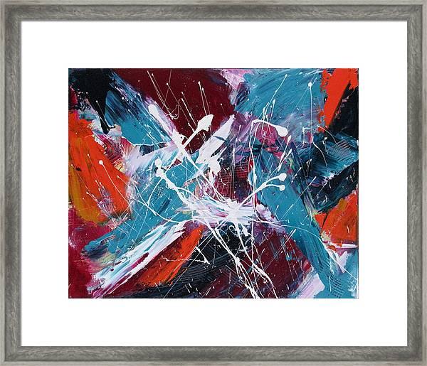 Star Burst Framed Print