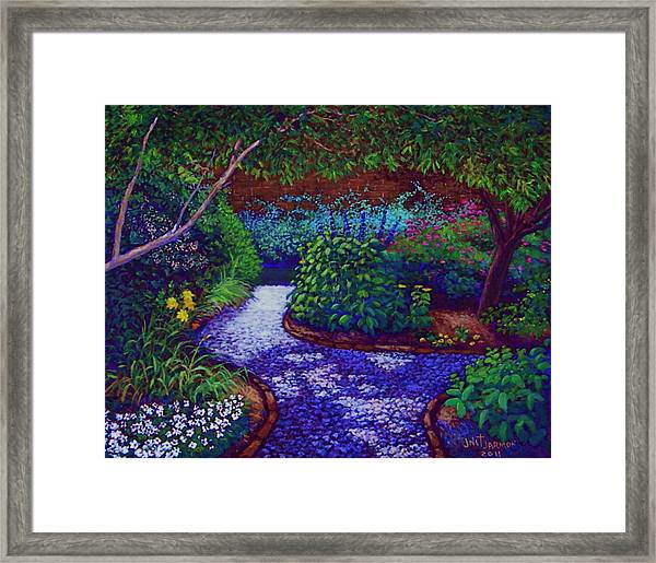 Southern Garden Framed Print
