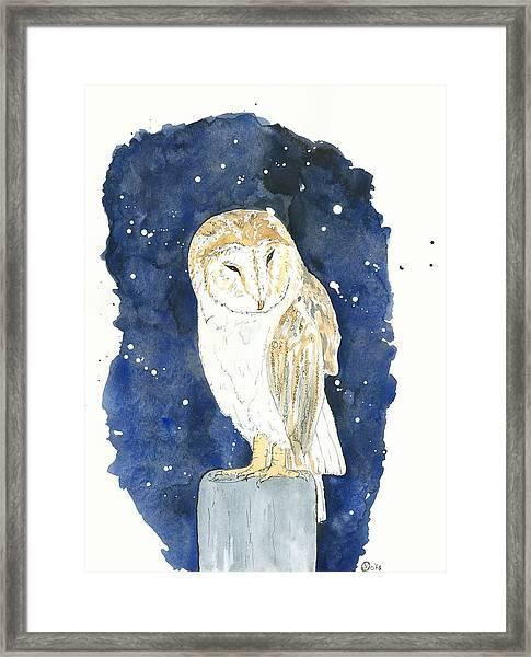 21d9b5f1c Starry Night Framed Print by Kiana Gonzalez