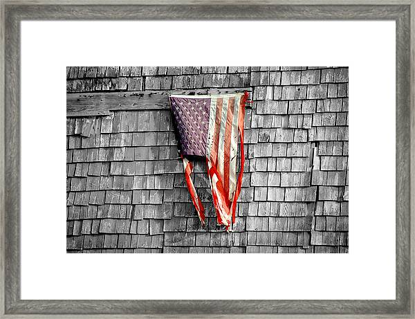 State Of The Union Framed Print