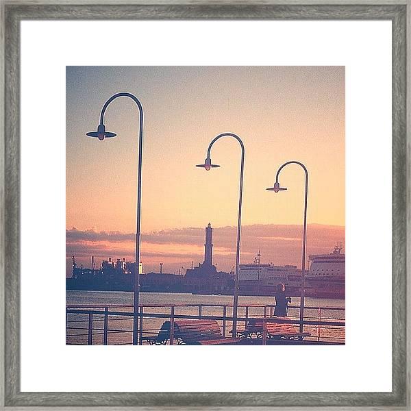 #statigram #italy #travel #graceland25 Framed Print