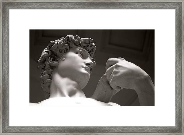 Statue Of David Framed Print