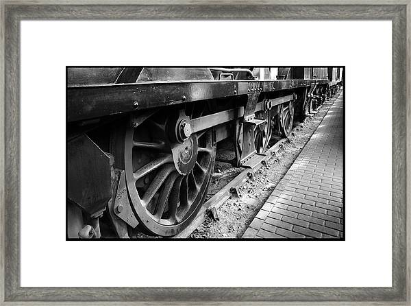 Steam Preserved Framed Print