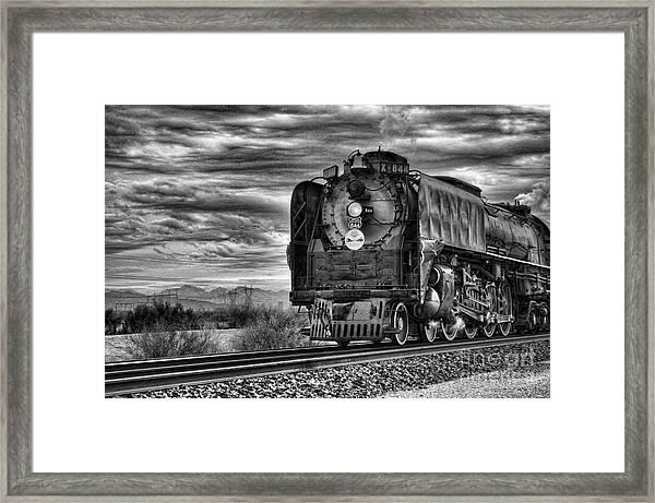 Steam Train No 844 - Iv Framed Print
