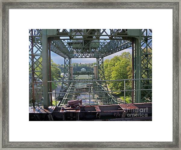 Steel Construction 2 Framed Print