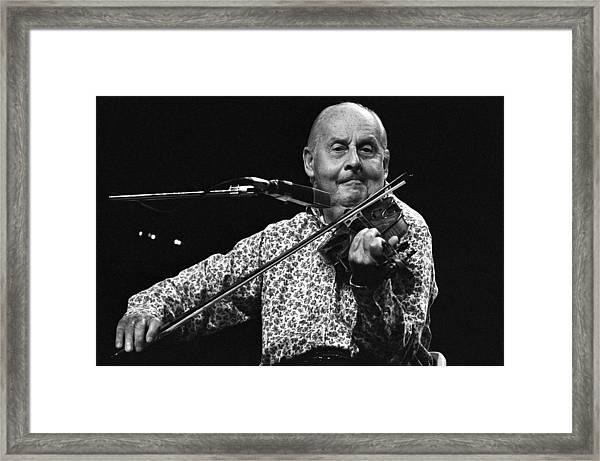 Stephane Grappelli 1 Framed Print