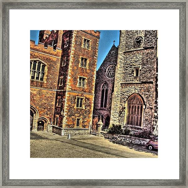 Stone Buildings, So Classic And Lovely Framed Print