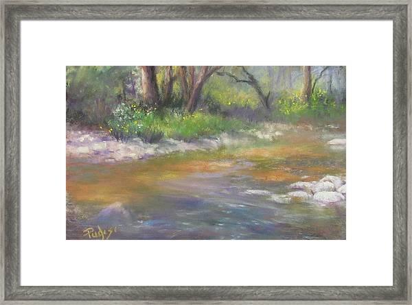 Stony Creek Framed Print