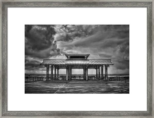 Storm Before The Calm Framed Print